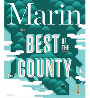 Marin Magazine Best of County August 2016
